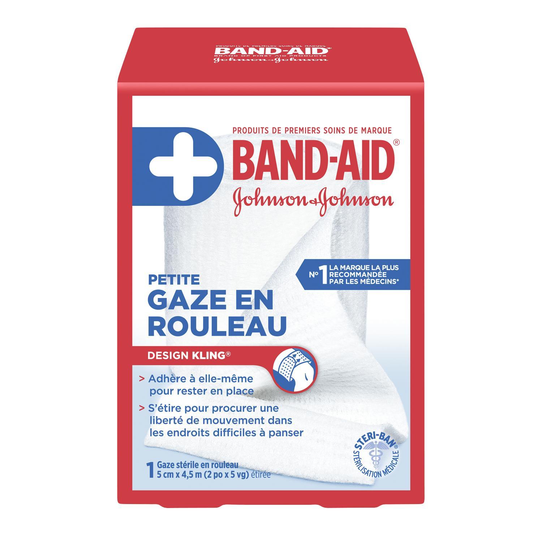 Gauze En Rouleau Marque Band Aid 174