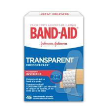 Pansements transparents BAND-AID COMFORT-FLEX® pour les plaies