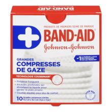 Grandes compresses de gaze BAND-AID®