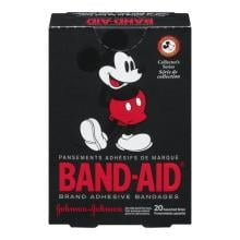 Pansements BAND-AID® Disney Mickey Mouse pour coupures égratignures