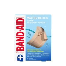 grands pansements adhésifs band-aid water block