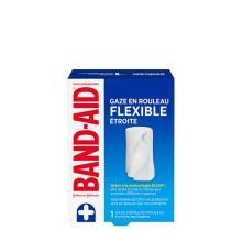 paquet d'un rouleau de gaze stérile flexible band-aid