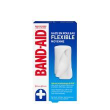 paquet de gaze en rouleau flexible band-aid
