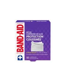 paquet de 10 petites compresses de gaze band-aid