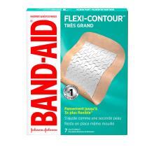 Pansements BAND-AID® FLEXI-CONTOURMC, très grands, sèchent rapidement