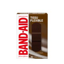 Boîte de pansements BAND-AID® Tissu flexible, BR65, 30 pansements assortis