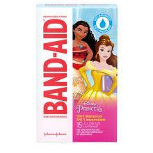 Pansements adhésifs imperméables de marque BAND-AID® à motifs de princesses Disney, 15 u.
