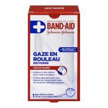 Gaze en rouleau BAND-AID®, moyenne