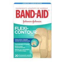 Pansements BAND-AID® Flexi-ContourMC à séchage rapide