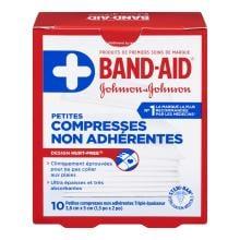 Petites compresses non adhérentes BAND-AID® HURT-FREE®