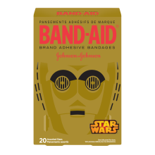 Star Wars Twenty Assorted Bandages Box by Band-Aid