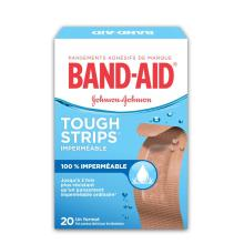 Pansements imperméables BAND-AID® TOUGH STRIPS®