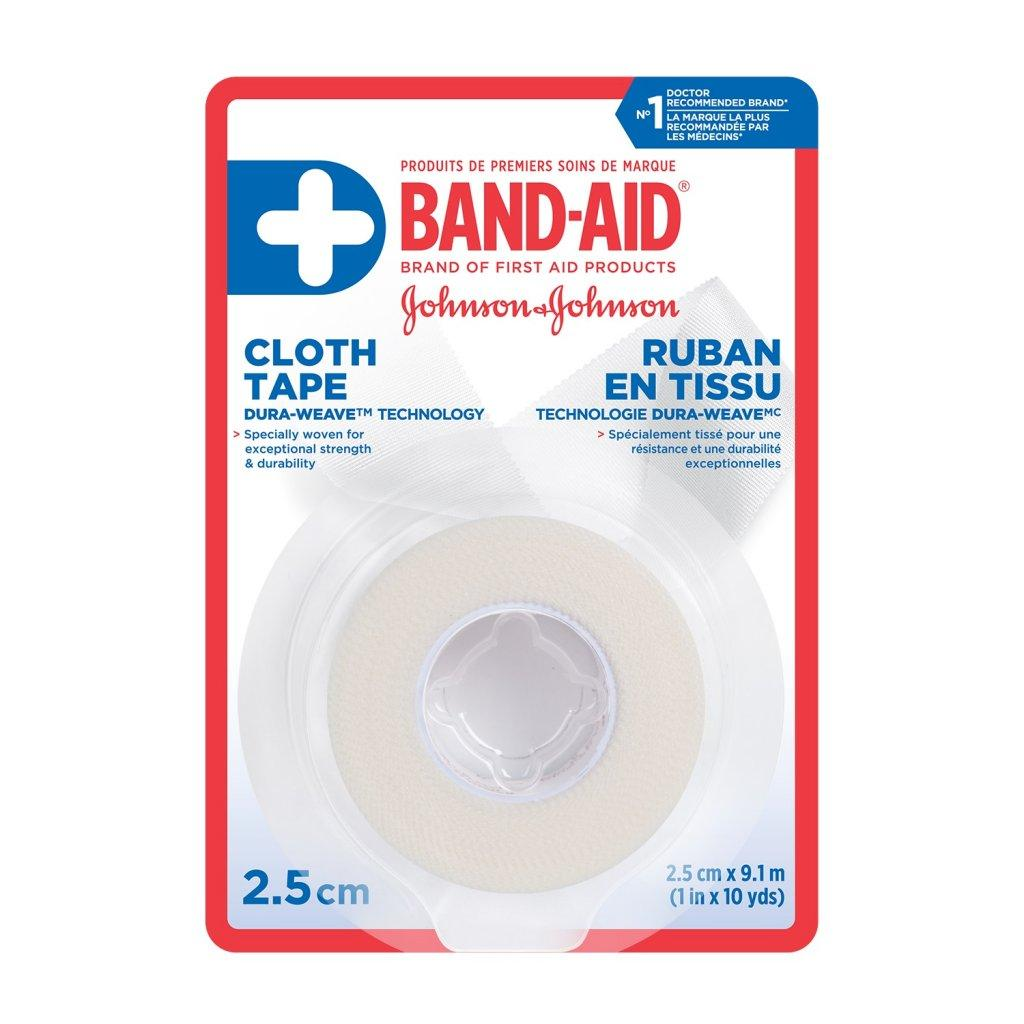 BAND-AID Cloth Tape with Dura Weave Technology