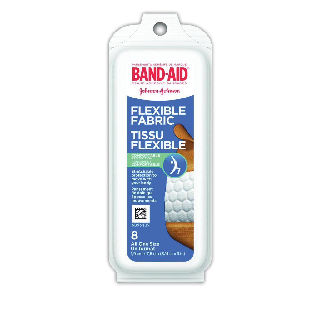 Pansements en tissu flexible BAND-AID®
