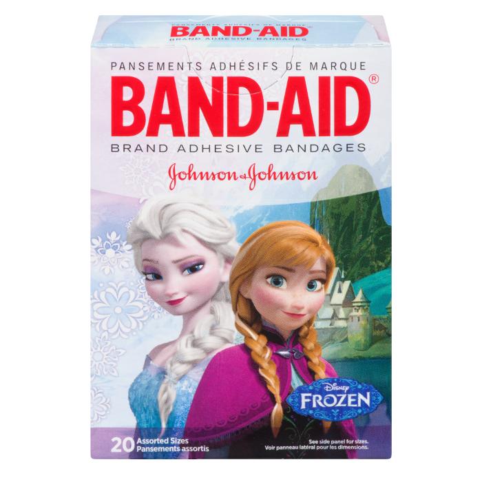 Disney Frozen Twenty Assorted Bandages Box by Band-Aid