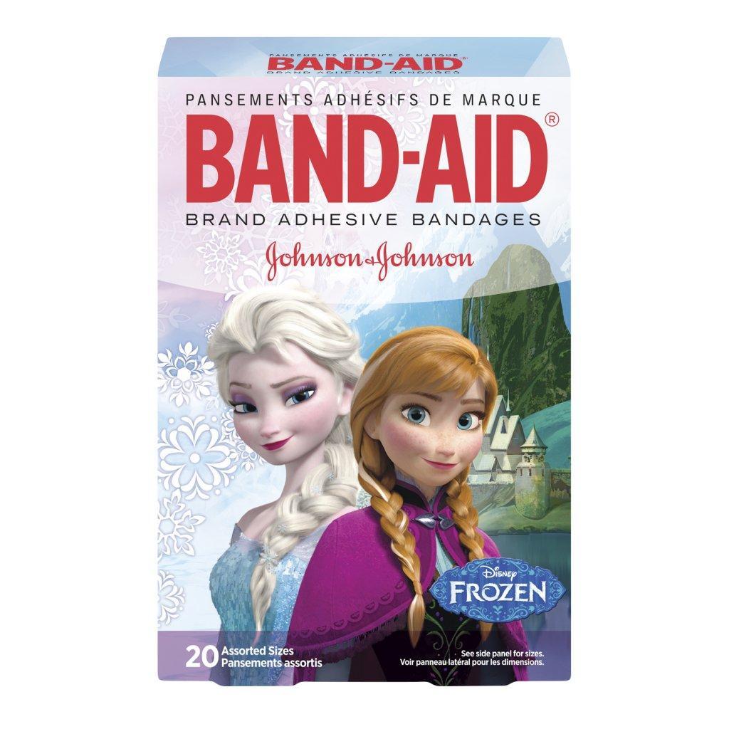 Pansements assortis BAND-AID® Disney Frozen