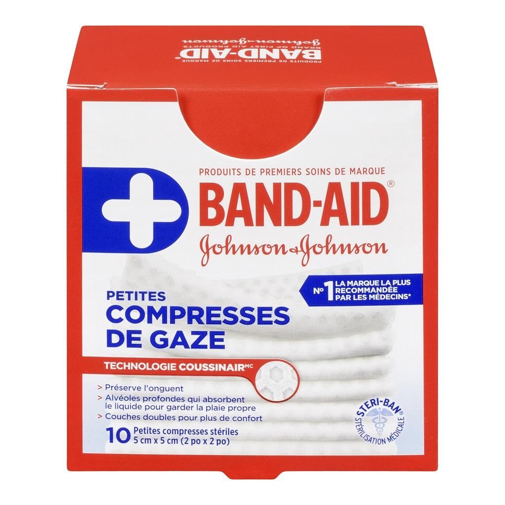 Petites compresses de gaze BAND-AID®