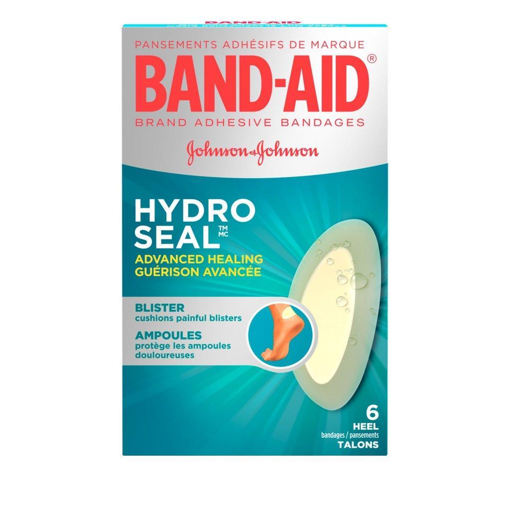 Pansements BAND-AID® Hydro SealMC pour talons et orteils