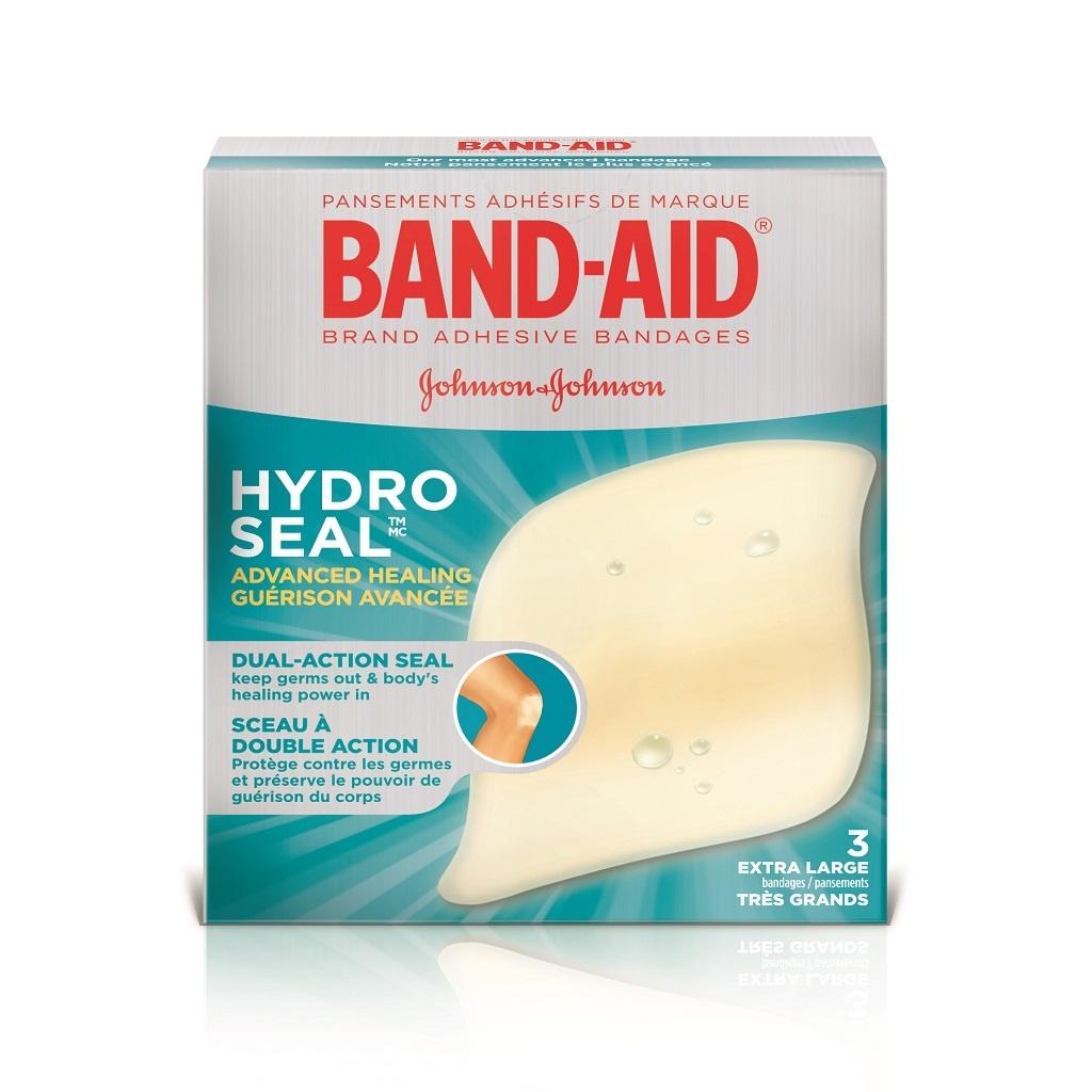 BAND-AID Hydro Seal Extra Large Bandages