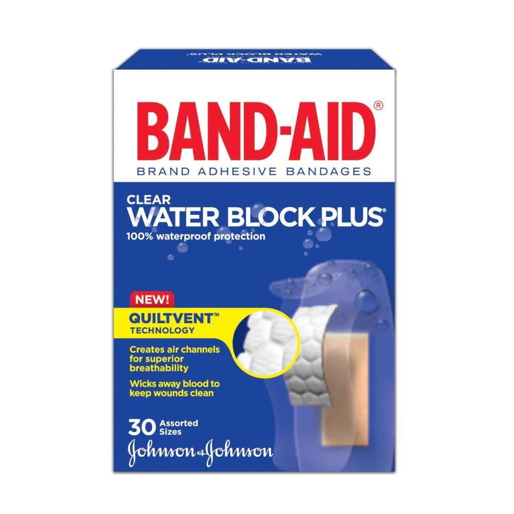 Clear, Assorted, 30 Bandages