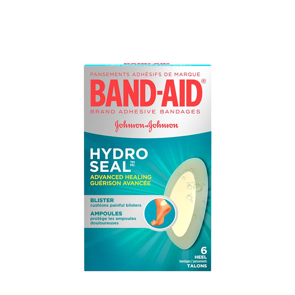 Pansements BAND-AID Hydro Seal Orteils/Talons