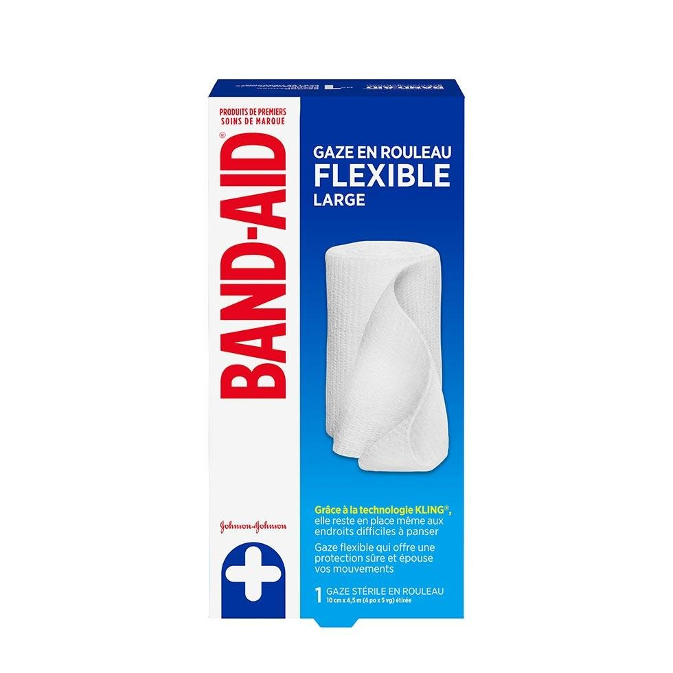grande gaze en rouleau flexible band-aid