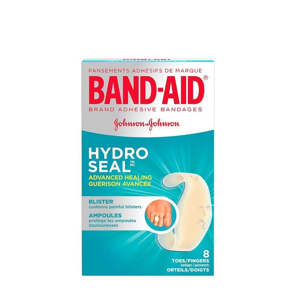 paquet de pansements band-aid hydro seal pour orteils/doigts