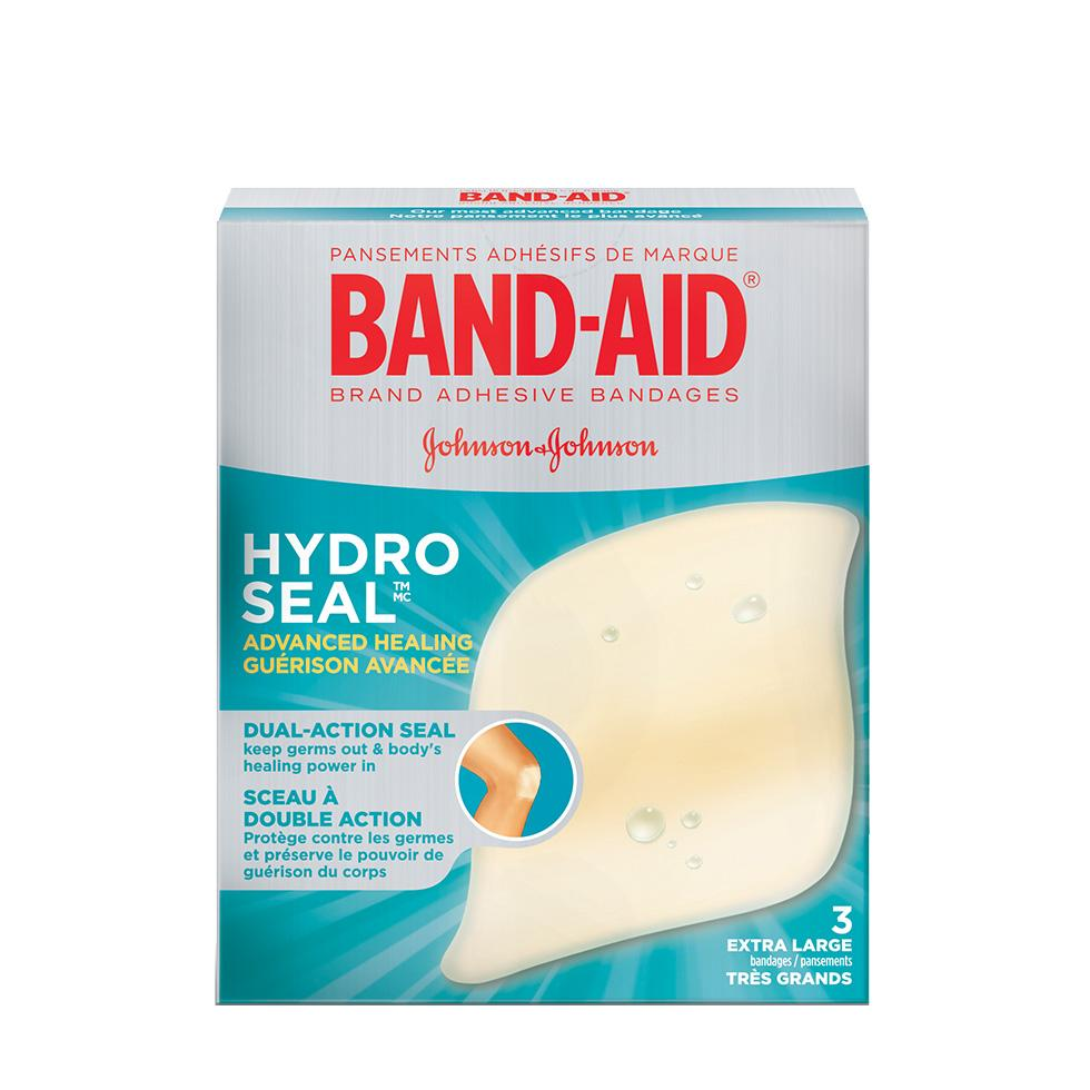 Pansements très grands BAND-AID® Hydro Seal IMC
