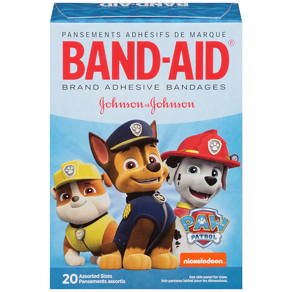 Nickelodeon Paw Patrol Box of Bandages by Band-Aid