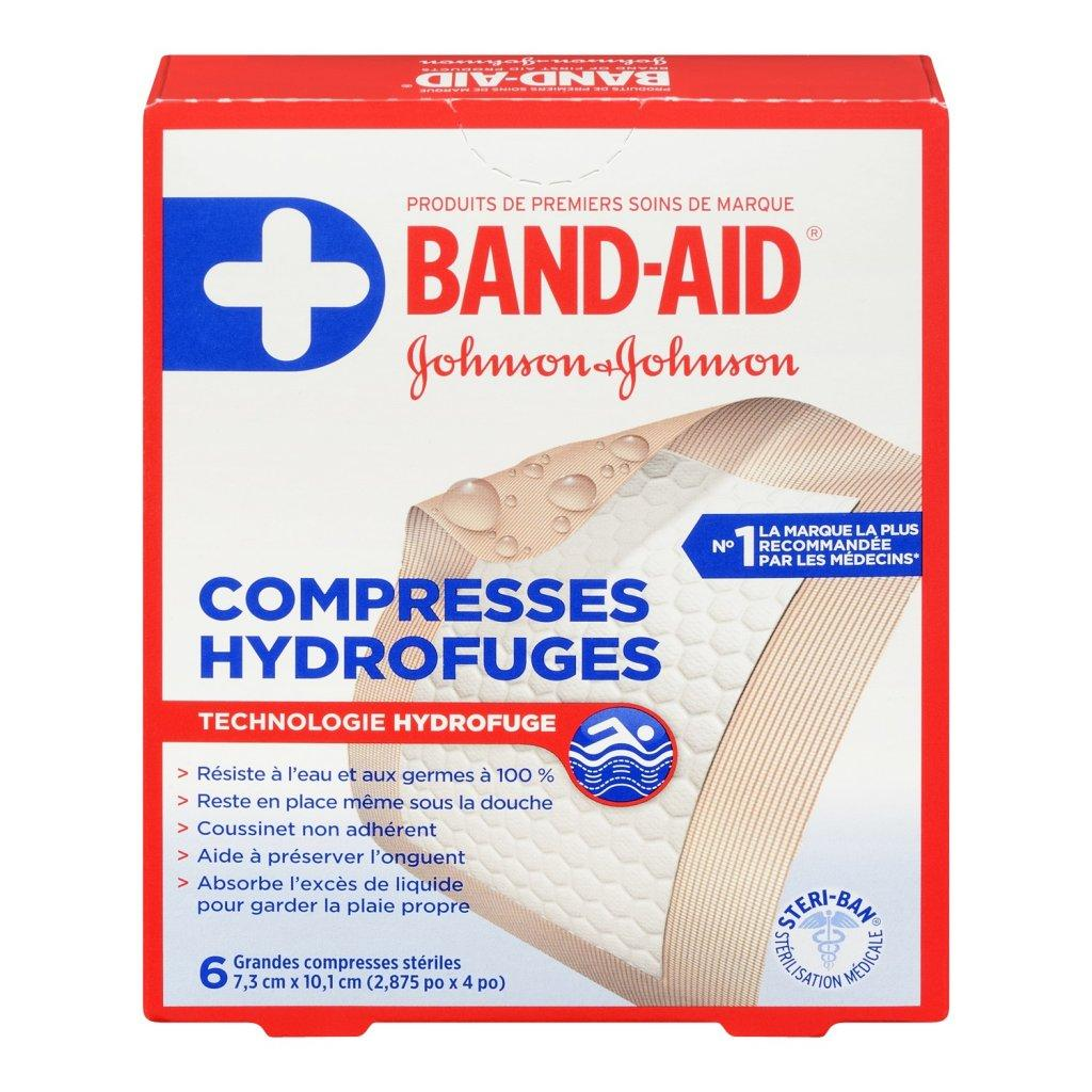 Grandes compresses hydrofuges BAND-AID®
