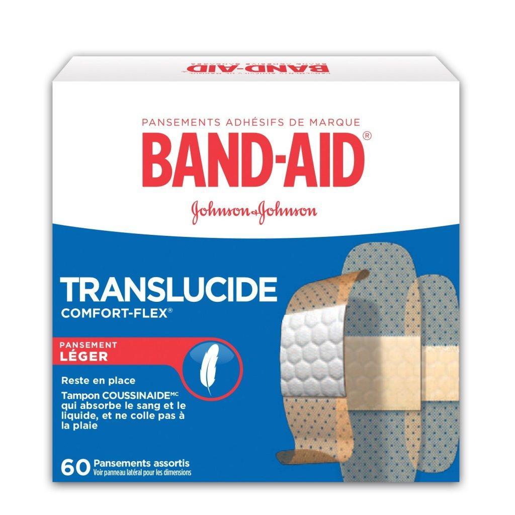 Pansements adhésifs en plastique BAND-AID® COMFORT-FLEX®
