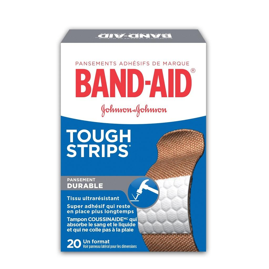 Pansements résistants BAND-AID® TOUGH STRIPS®